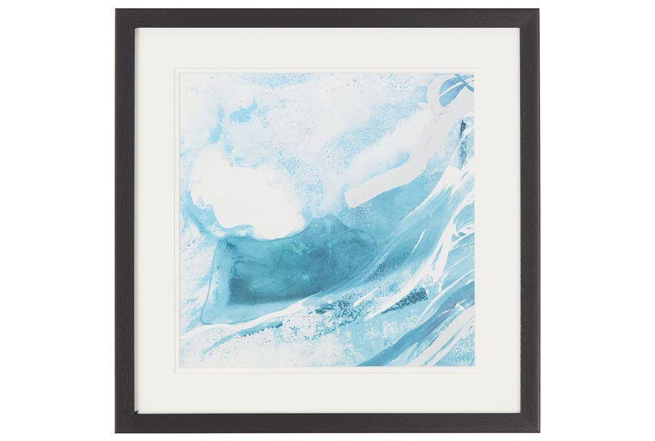 Azure Blue Framed Wall Art