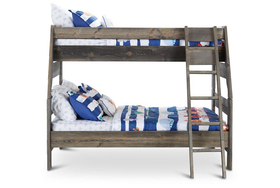 Cinnamon Gray Bunk Bed