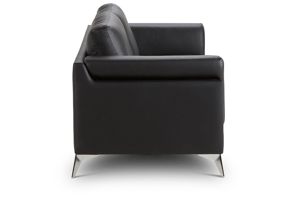 Gianna Black Micro Sofa, %%bed_Size%% (3)