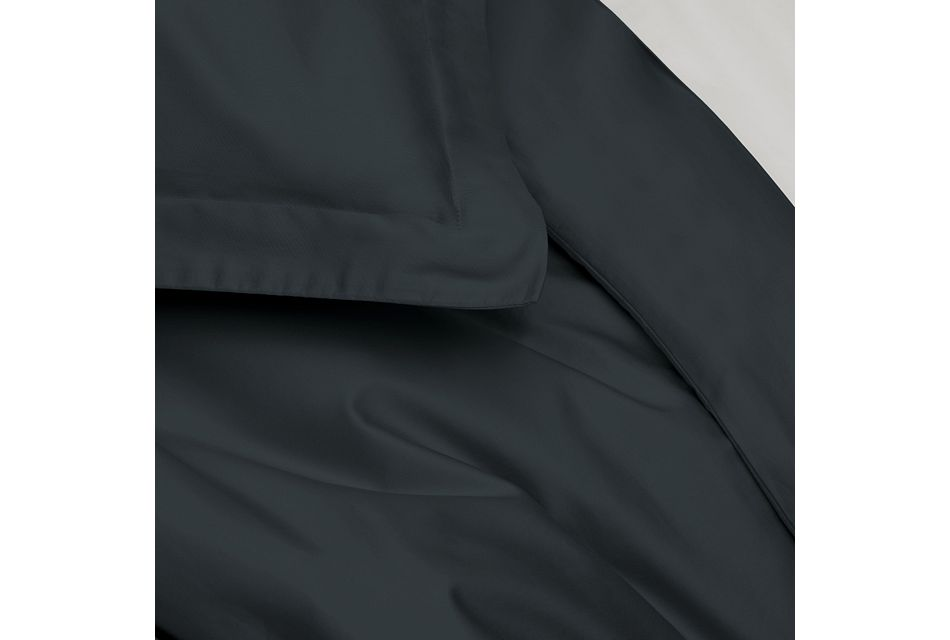 Cotton Sateen Dark Blue 300 Thread Duvet Set