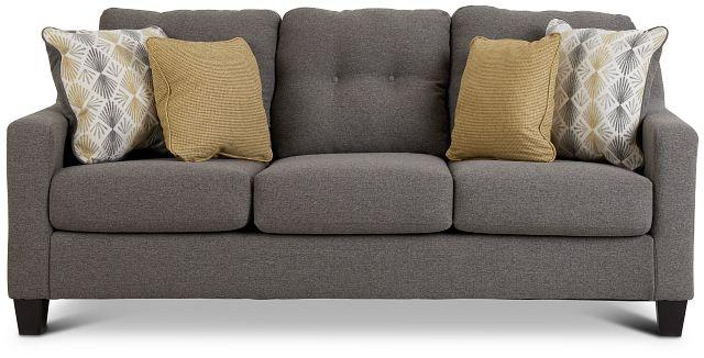 Daylon Light Gray Micro Sofa (1)