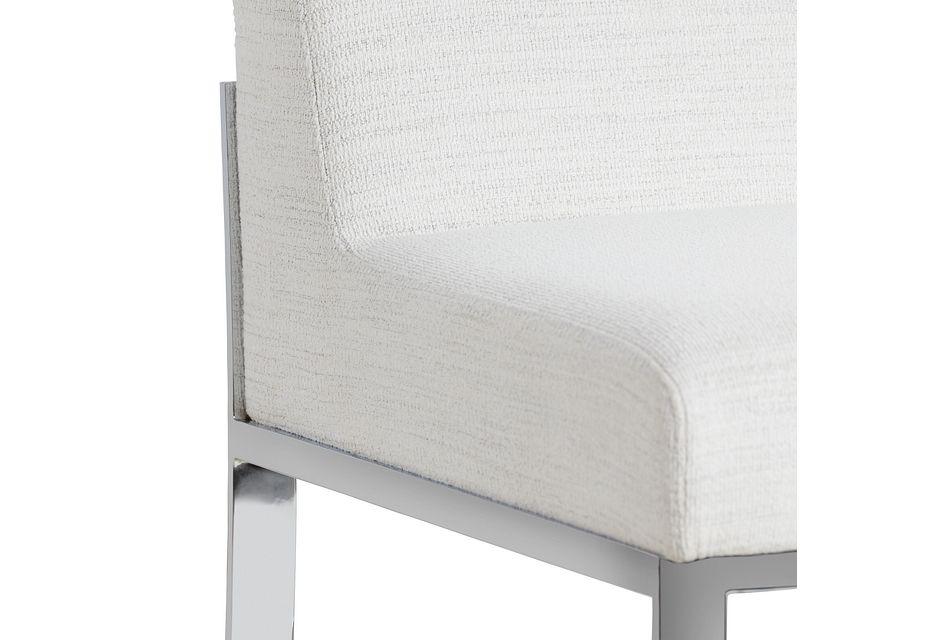 """Ocean Drive Whitemetal 24"""" Upholstered Barstool"""
