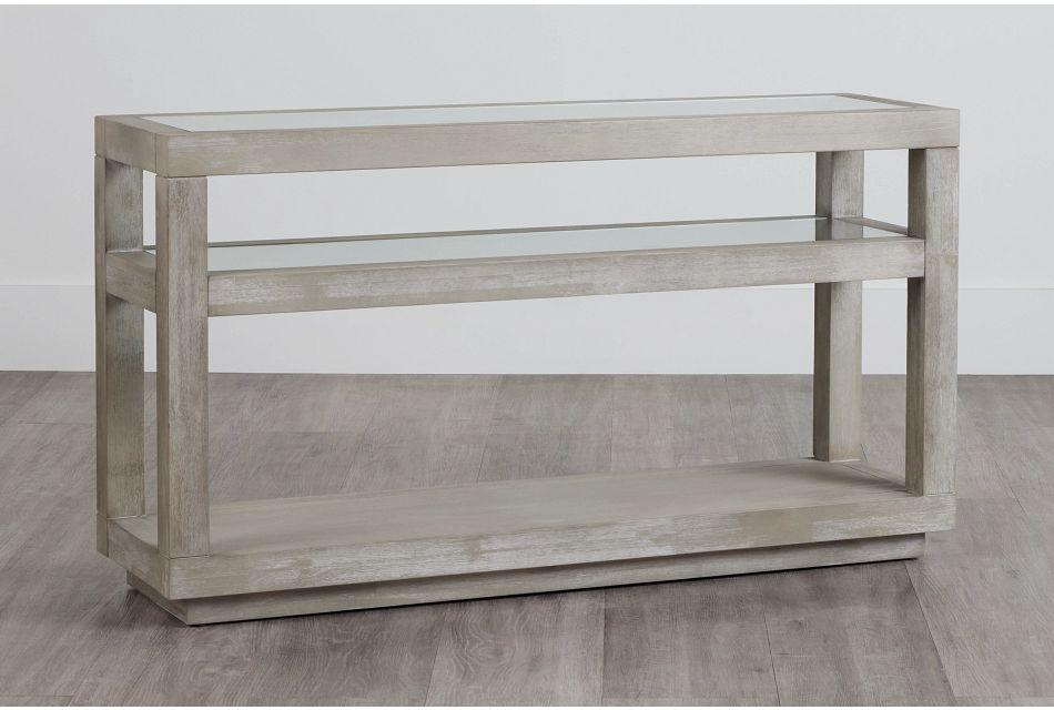 Madden Light Tone Sofa Table,  (0)