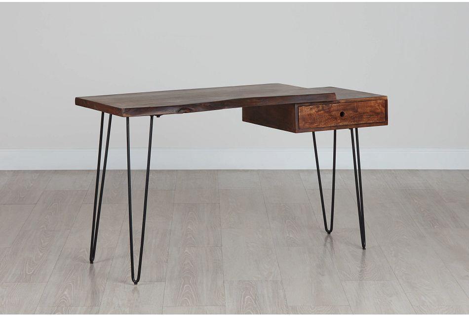Nature Edge Dark Tone Desk,  (0)