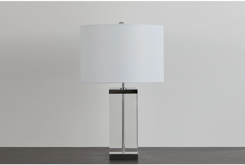 Amato Clear Table Lamp
