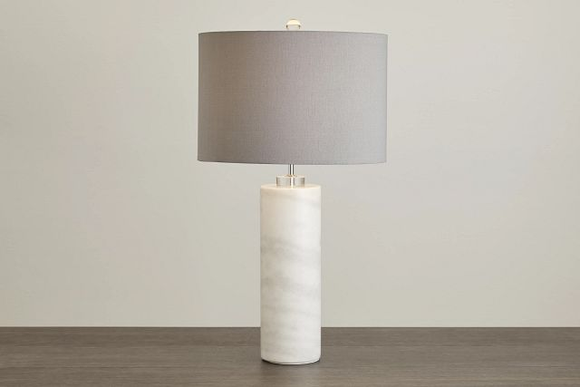 Pippi Gray Marble Table Lamp (0)