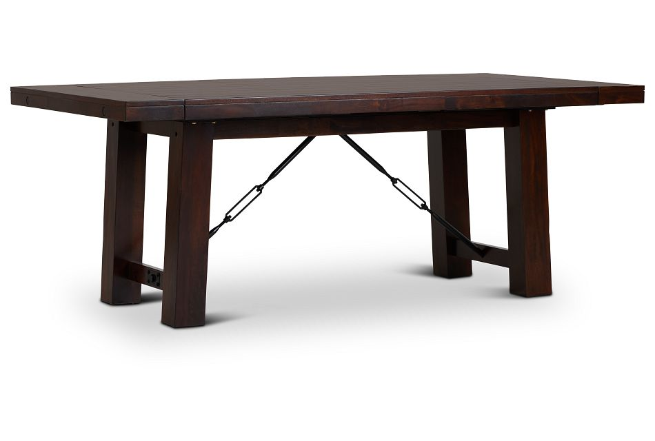 Napa Dark Tone Rectangular Table,  (2)