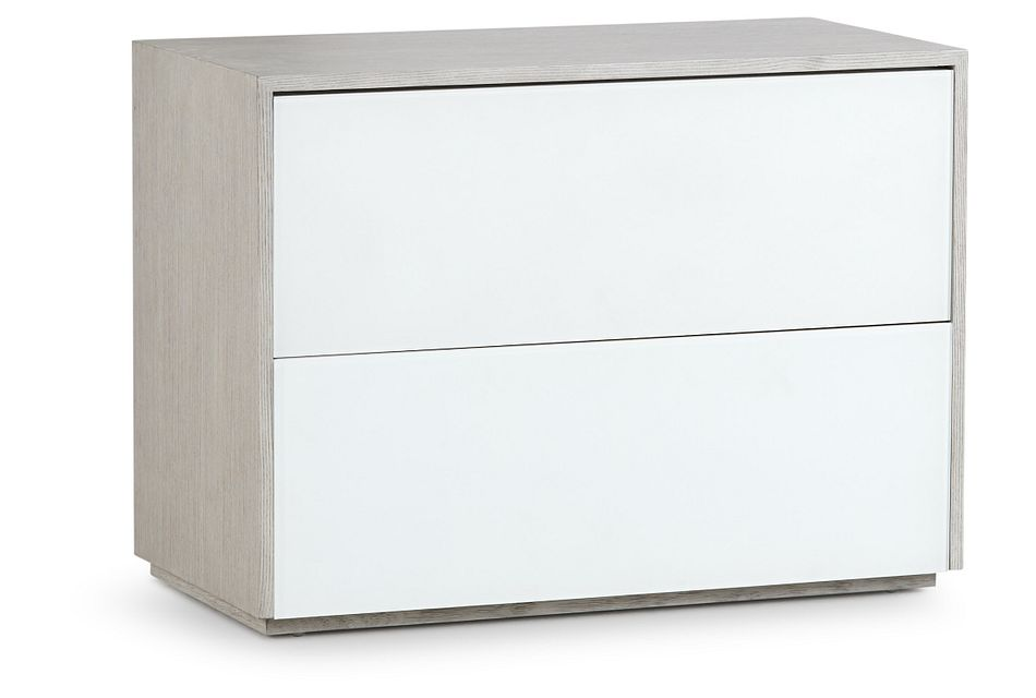 Rio Light Tone 2-drawer Nightstand