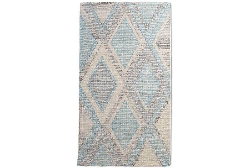 Masoni Blue 5x8 Area Rug