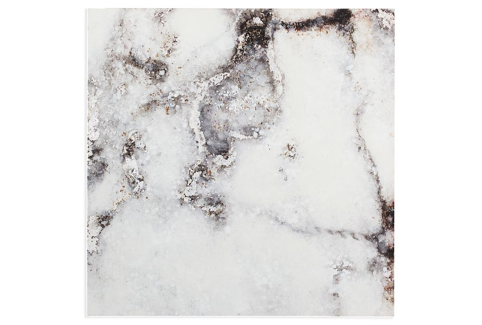 Laurel Marble Canvas Wall Art