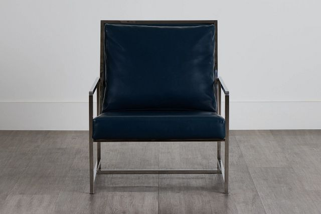 Harvey Blue Uph Accent Chair (0)