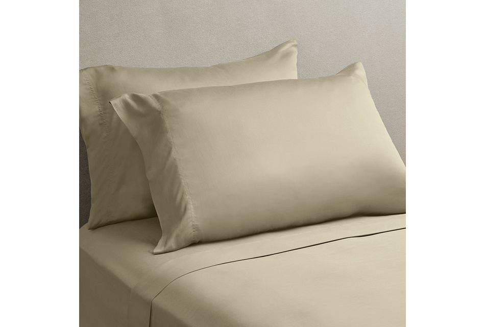 Tencel Beige 300 Thread Sheet Set