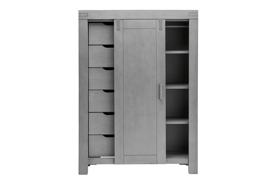 Piermont Gray Wardrobe Chest