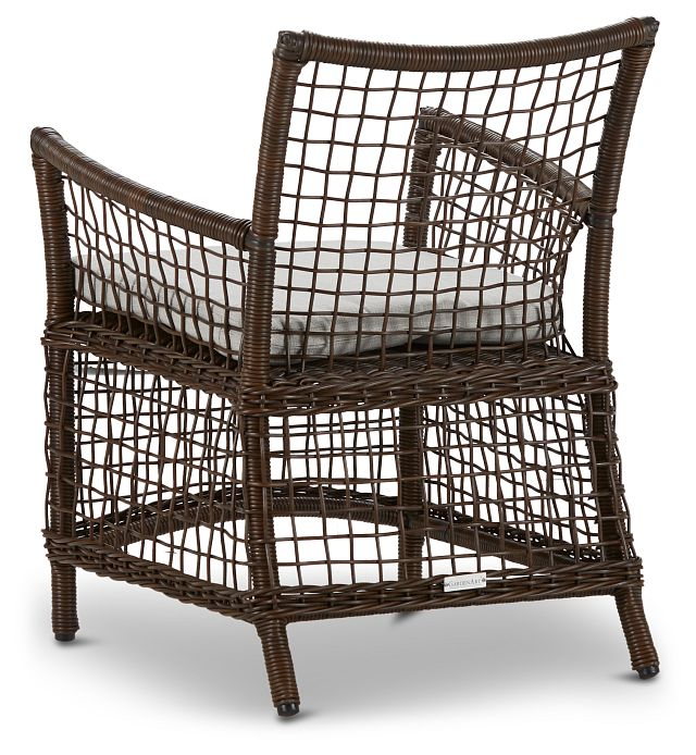 Southport Gray Woven Arm Chair (2)