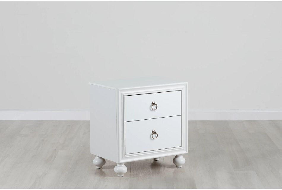 Isabella White Nightstand