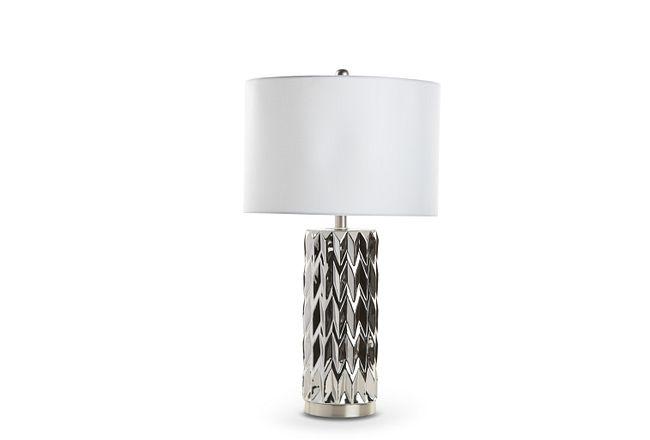 Carina Silver Table Lamp