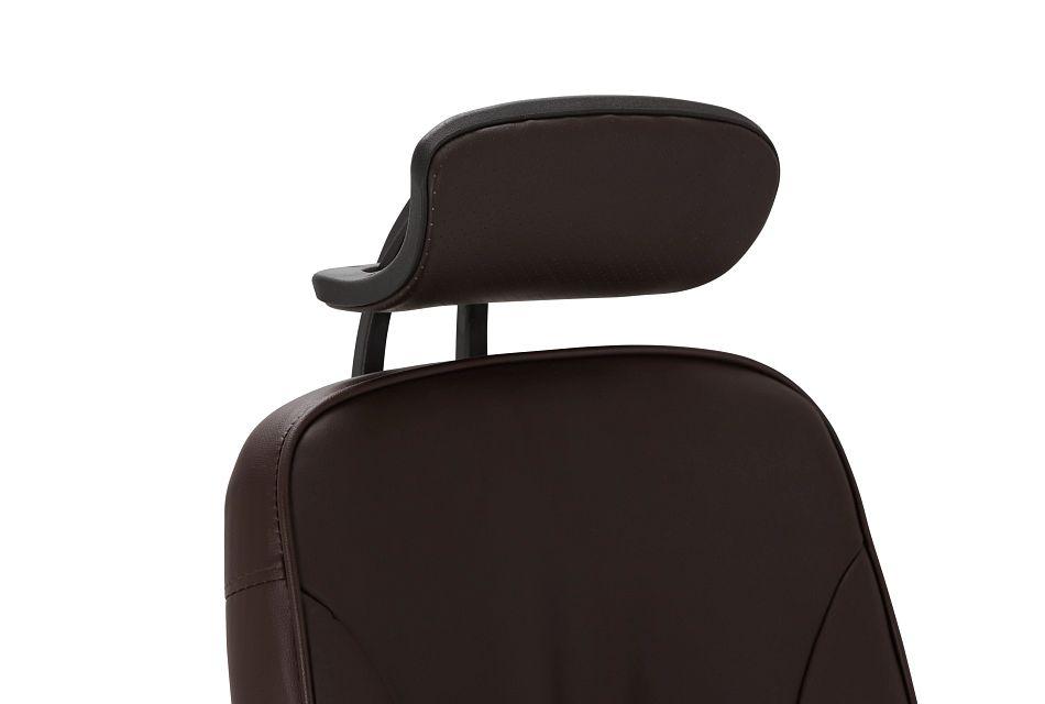 Aurora Brown Uph Desk Chair