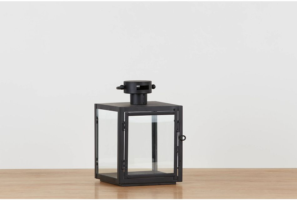 Madison Black Small Lantern