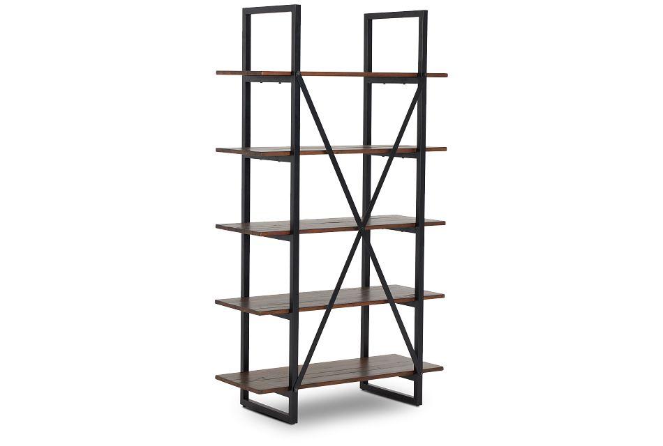 Chicago Dark Tone Bookcase,  (2)