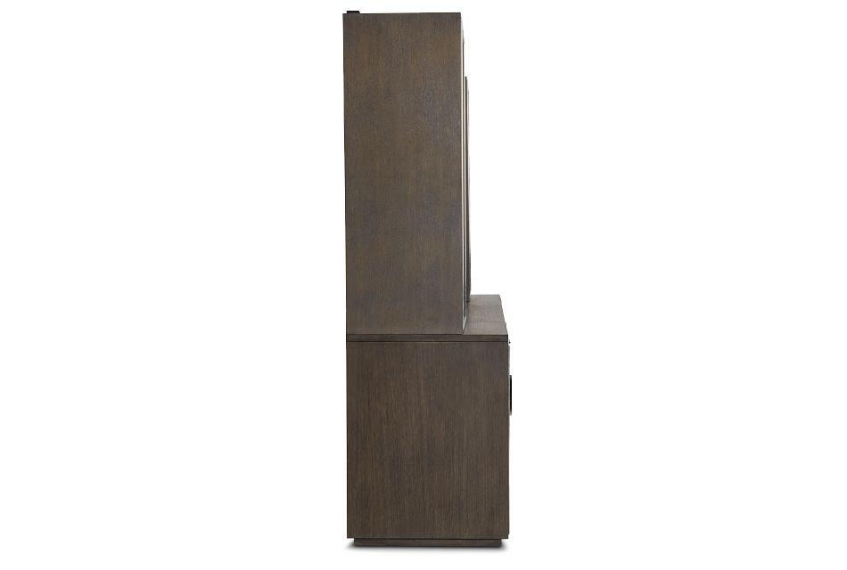 Highline Dark Tone Door Wall Desk,  (3)