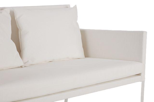Lisbon White Sofa (0)