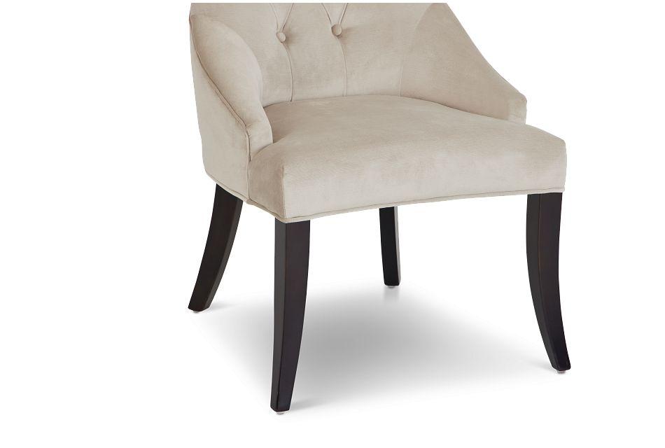 Sloane Light Beige Upholstered Arm Chair
