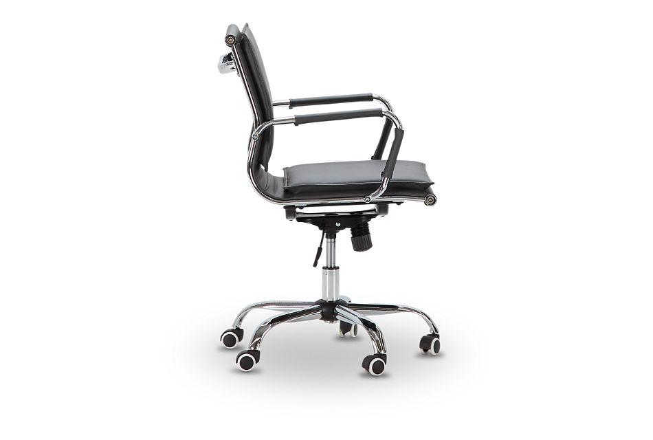 Denver Gray Uph Desk Chair, %%bed_Size%% (2)