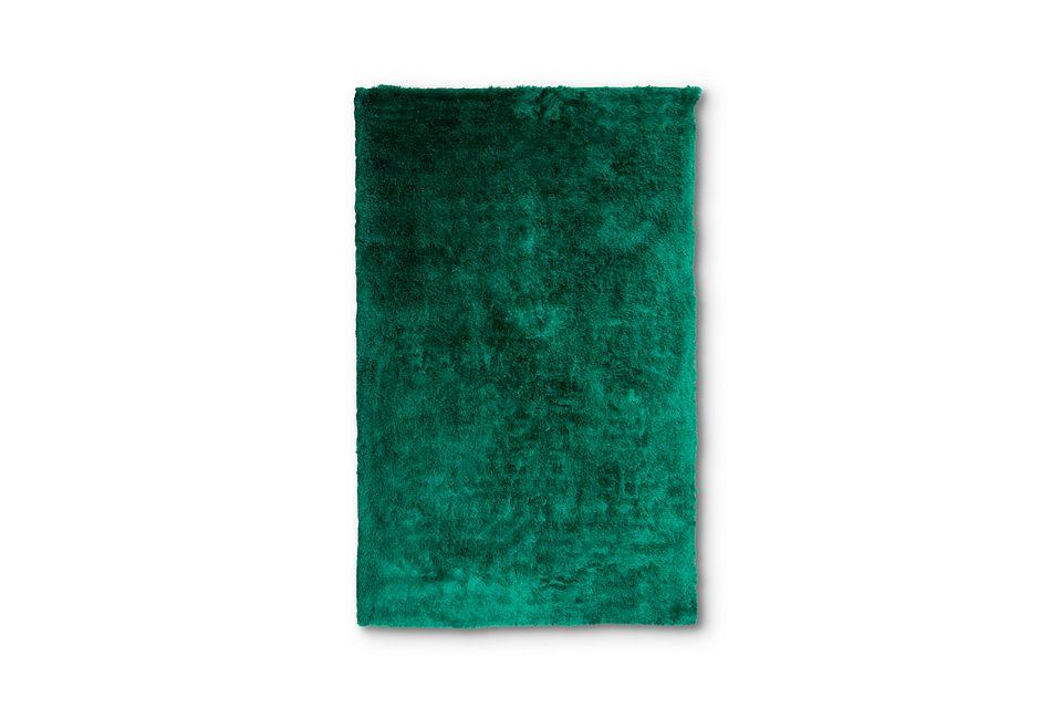 Allure Dark Green 10x13 Area Rug