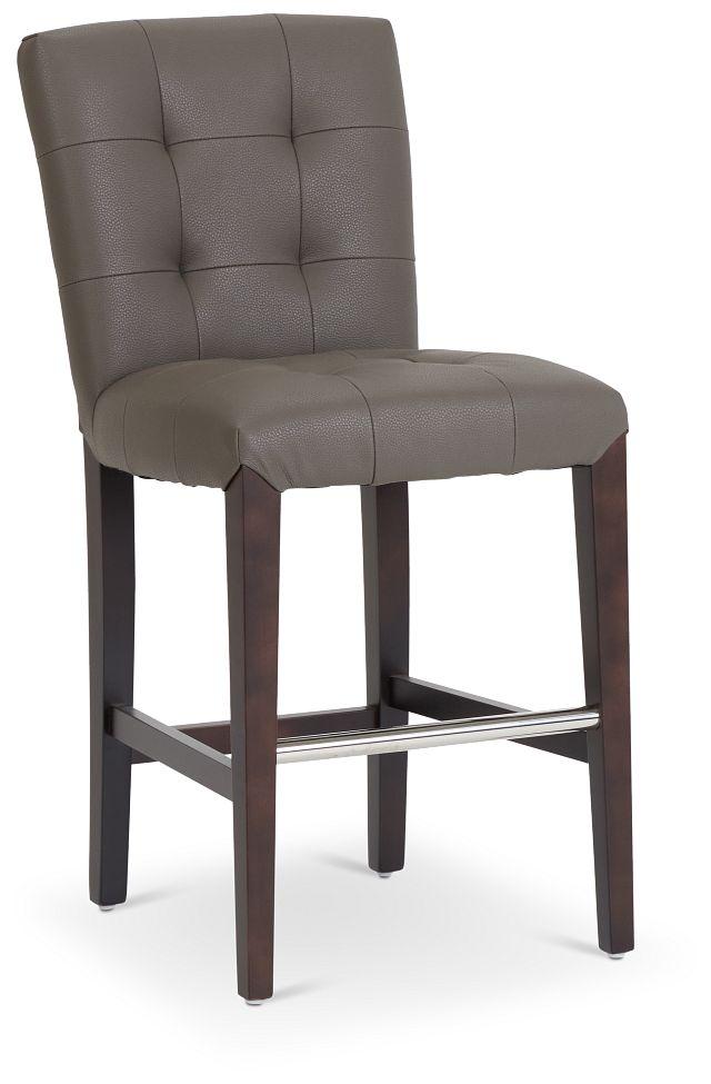 """Shelby Graymicro 24"""" Upholstered Barstool (1)"""
