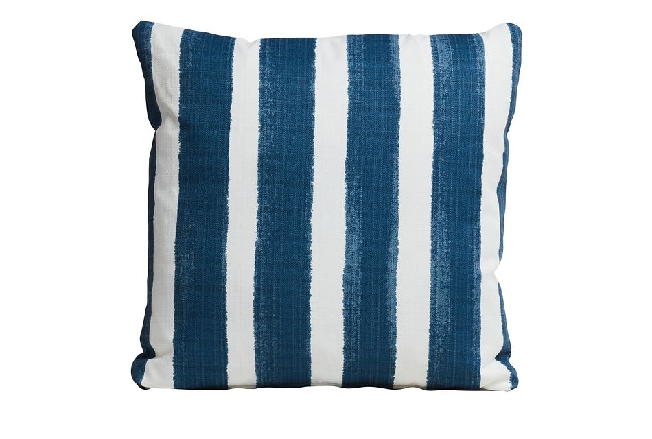 "Nico Blue 20"" Indoor/outdoor Accent Pillow"
