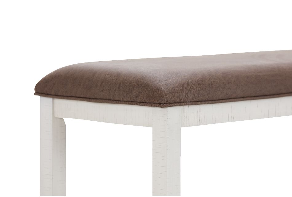 """Huntsville Two-tone 24"""" High Dining Bench"""