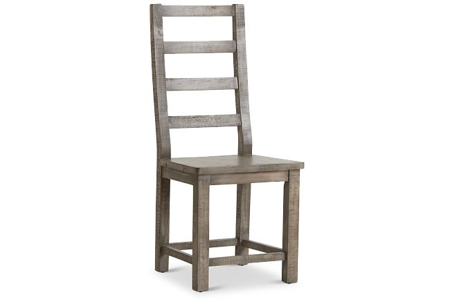 Seattle Gray Wood Side Chair