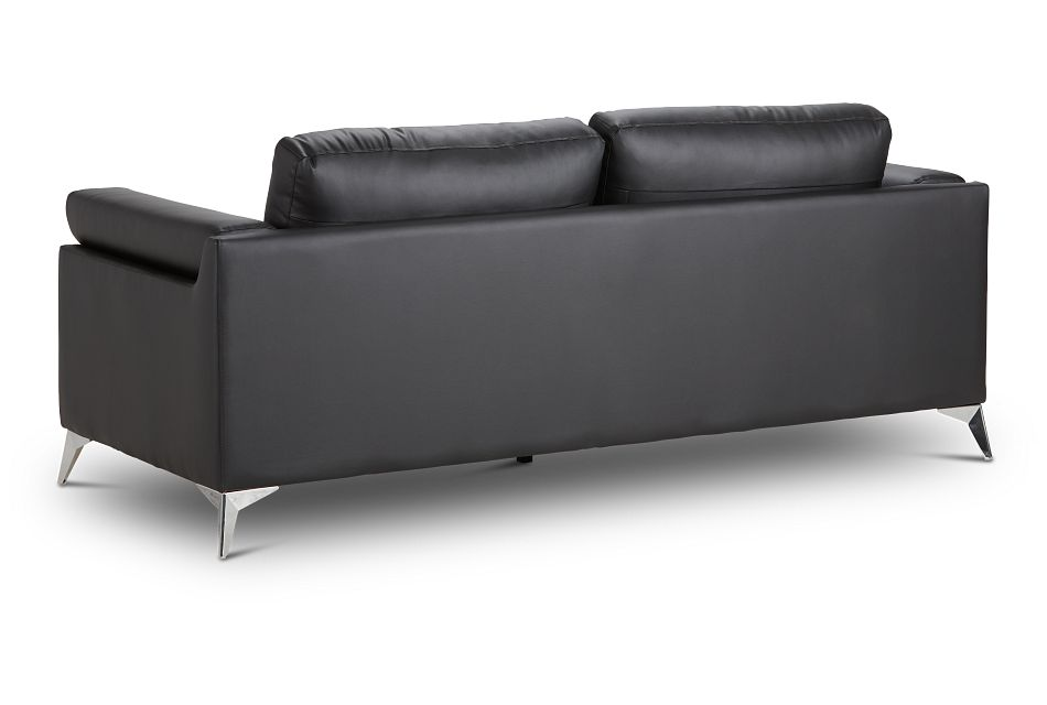 Gianna Black Micro Sofa