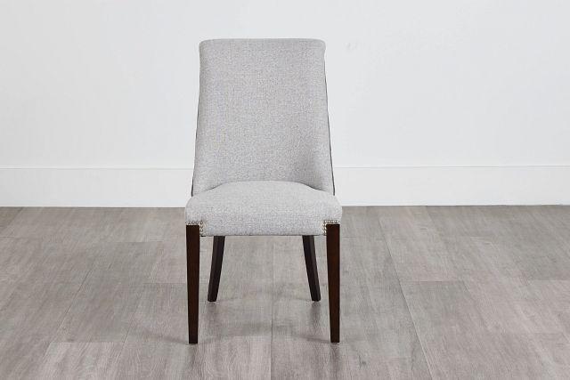 Brynn Light Gray Micro Side Chair (0)