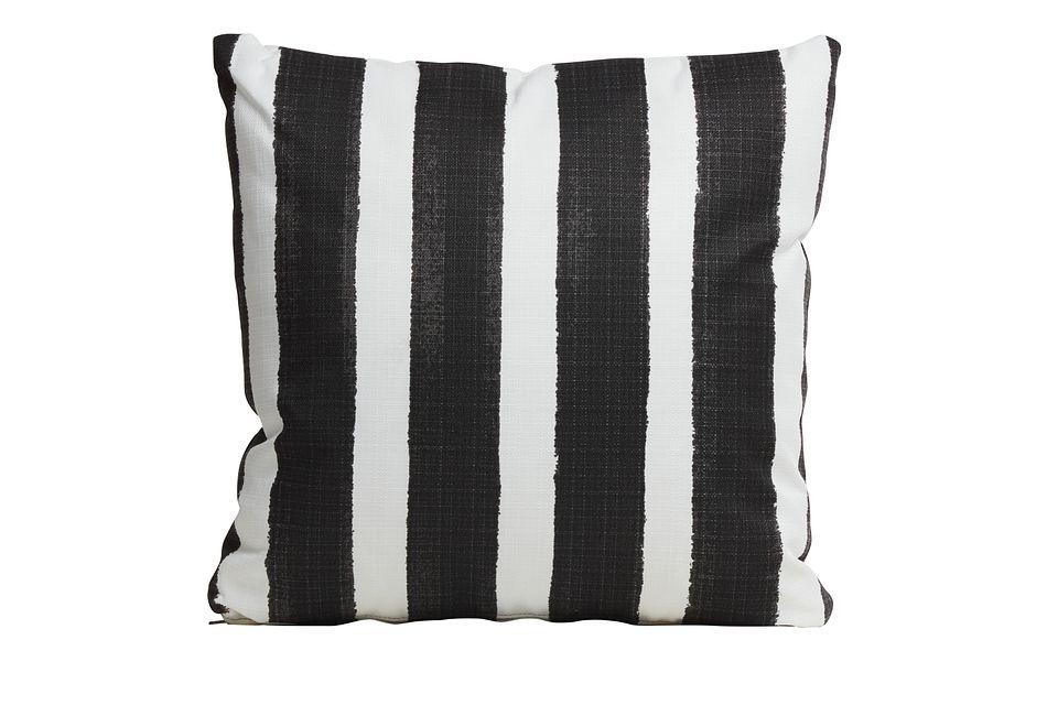 """Nico BLACK 20"""" Indoor/Outdoor Accent Pillow,  (0)"""