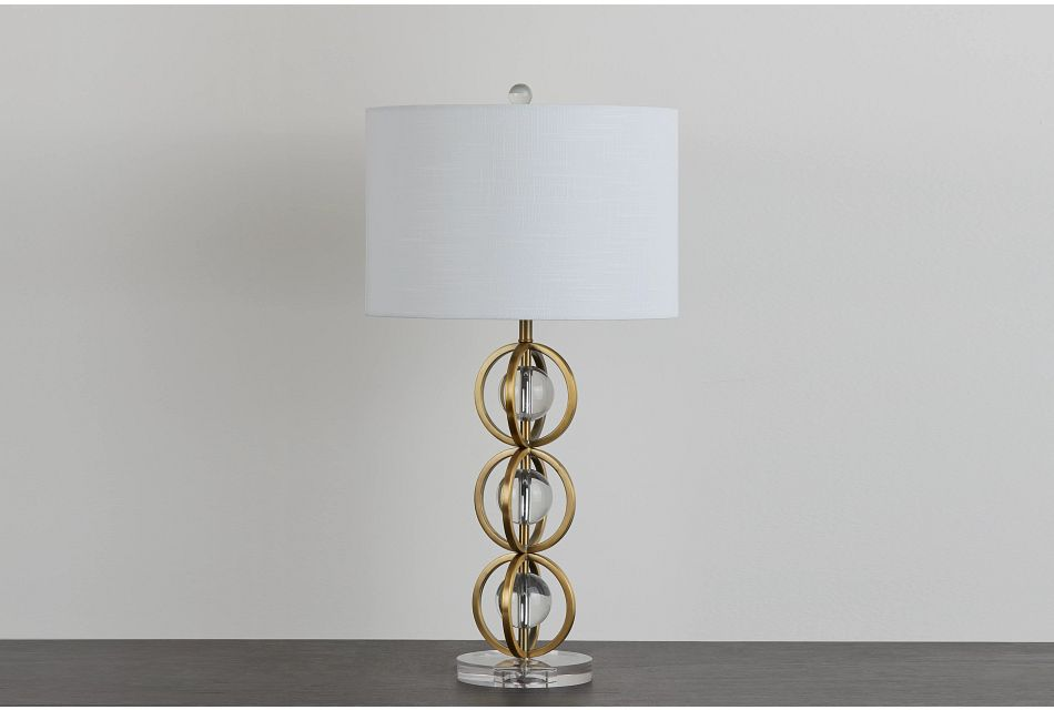 Lydia Gold Table Lamp