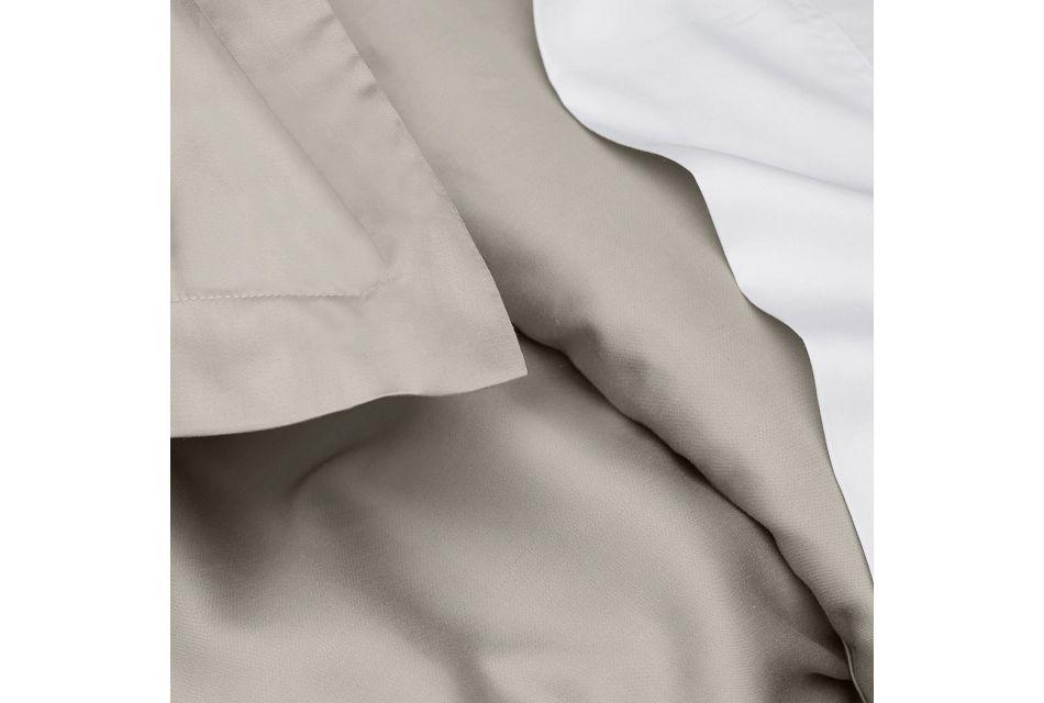 Tencel Gray 300 Thread Duvet Set