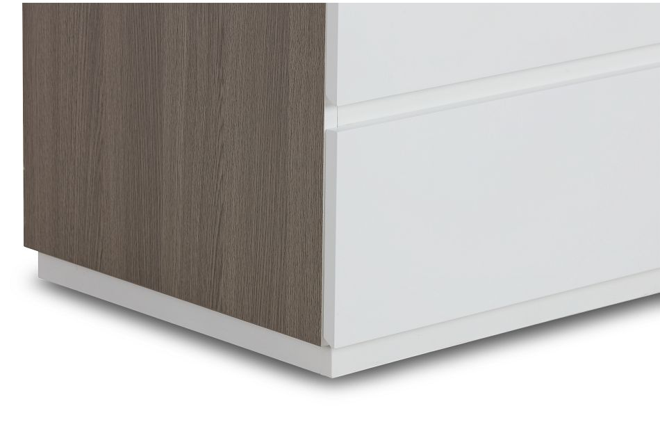 Pesaro Two-tone Drawer Chest