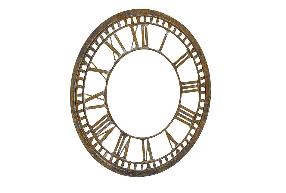 Clock Face Relic Metal Wall Clock