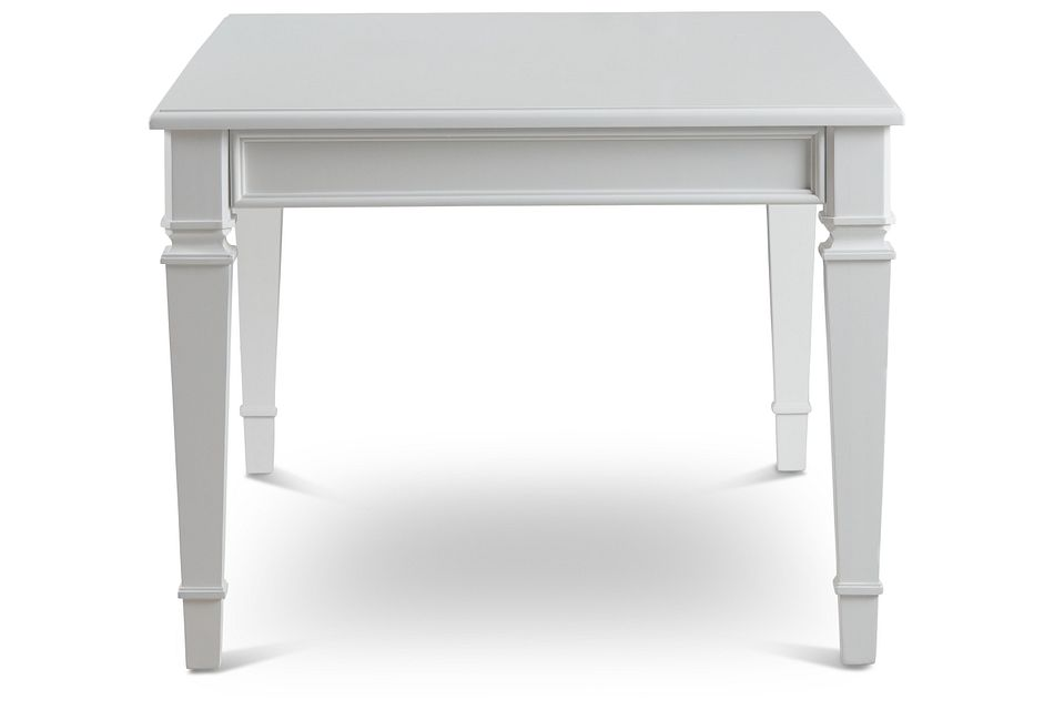 Marina White Rectangular Table