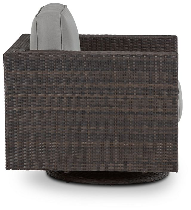 Fina Gray Swivel Chair (1)