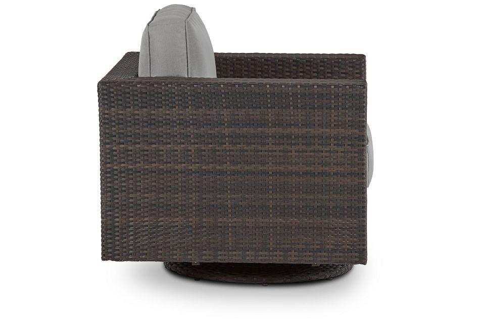 Fina Gray Swivel Chair