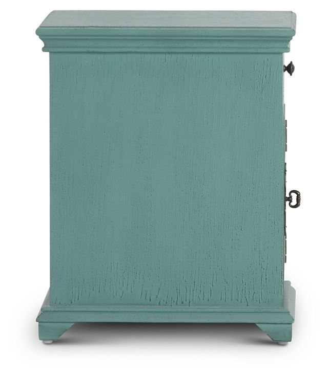 Alexis Teal Small Cabinet (3)