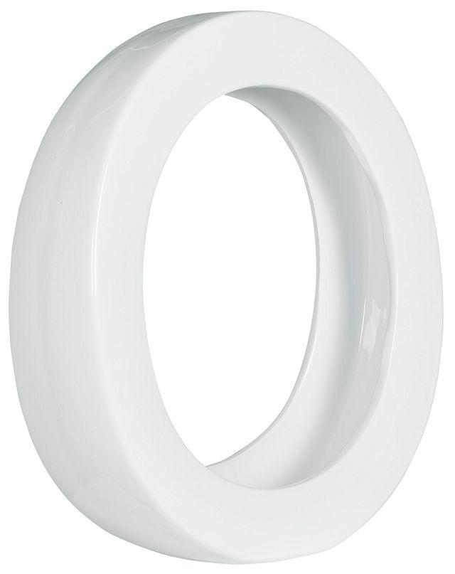 Oliver White Round Vase (3)