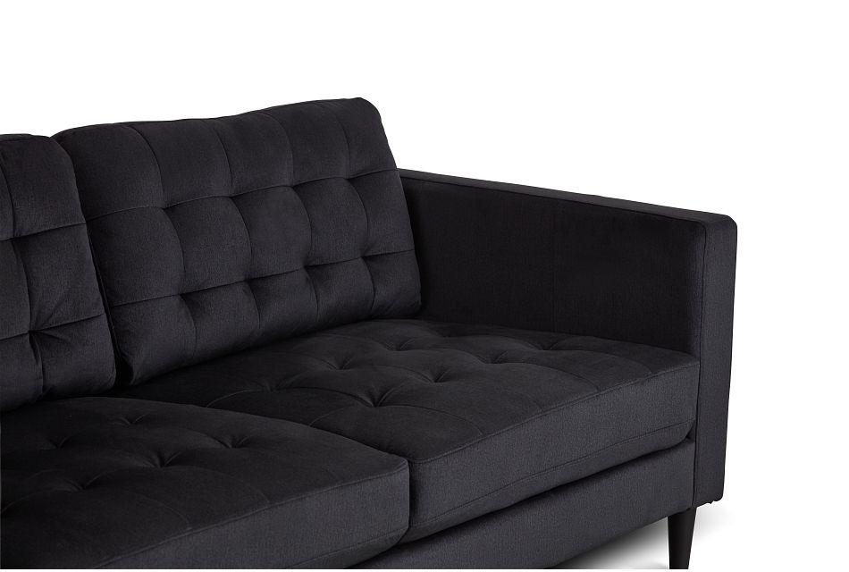 Shae Dark Gray Micro Sofa