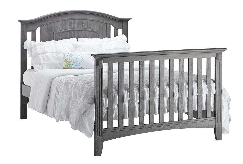 Willowbrook Gray Panel Bed