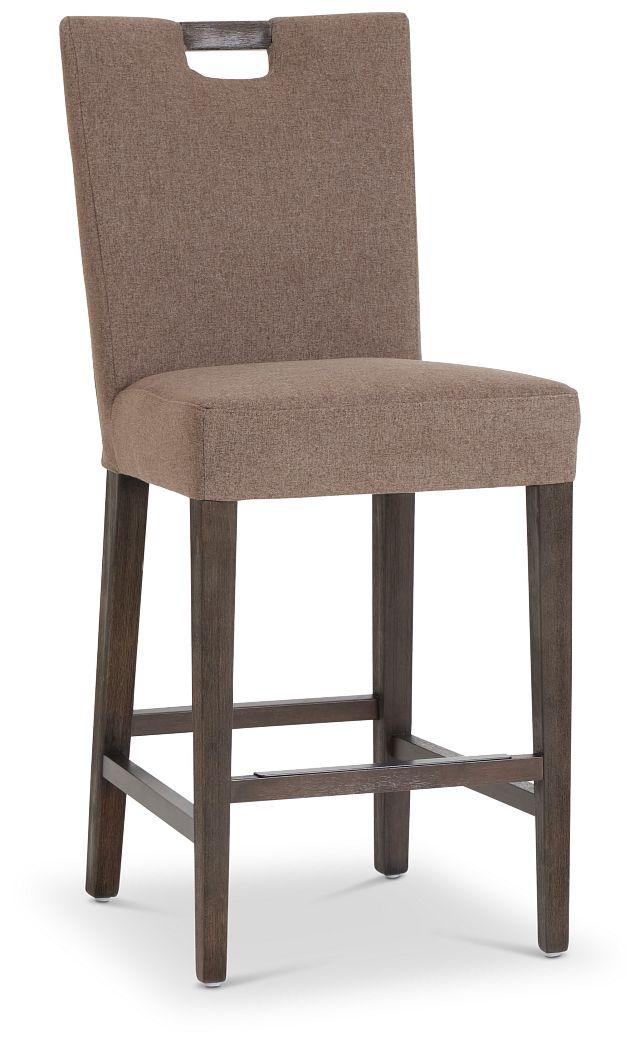 "Stout Brown 24"" Upholstered Barstool (1)"