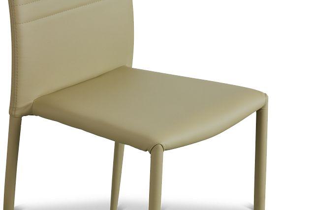 Skyline Light Green Upholstered Side Chair