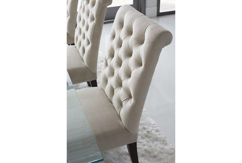 Sloane Light Beige Upholstered Side Chair