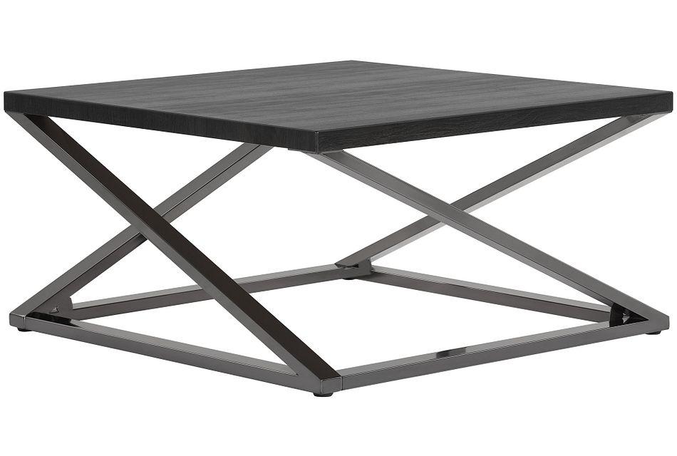 Aegean Dark Tone  Square Coffee Table,  (1)